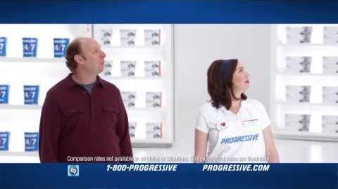 Gravity - Progressive Insurance Commercial
