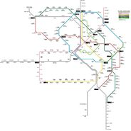 Future KL rail map with KVMRT lines
