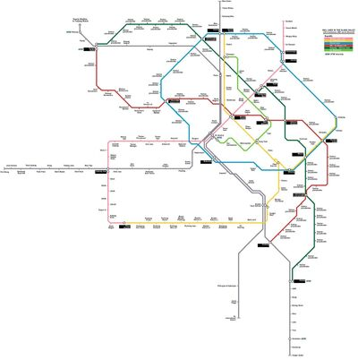 Future KL rail map with KVMRT lines