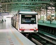 Former Ampang LRT train