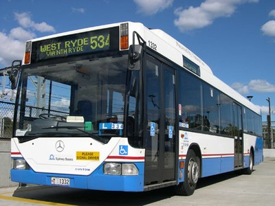 2nd MB bus Sydney