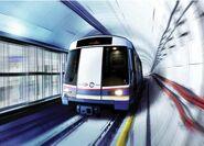 KVMRT train