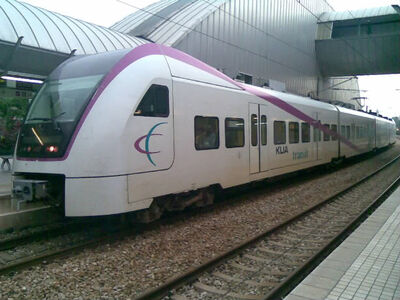 Express Rail Link train
