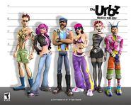 Urbz wallpaper lineup 1280x1024
