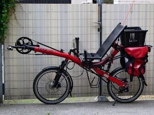 Recumbent bicycle Toxy CL