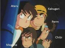 Ataru y la tropa de asalto de Lum-0