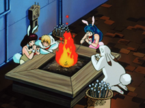 Bunny Shinobu Lum Ataru Inaba OVA3