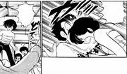 Ryuunosuke's headbutt - Swimsuit Rhapsody