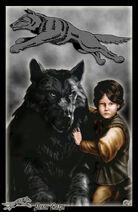 Rickon Stark și Lăţosul de Amok©