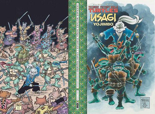TMNT-Usagi Expanded Edition HC Sakai exclusive wraparound