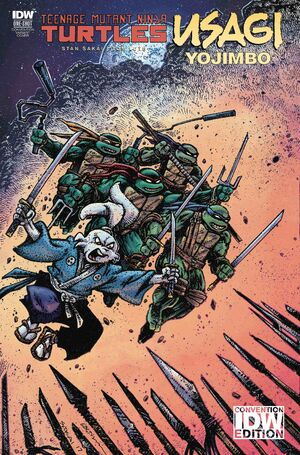 TMNT-Usagi IDW Convention Exclusive