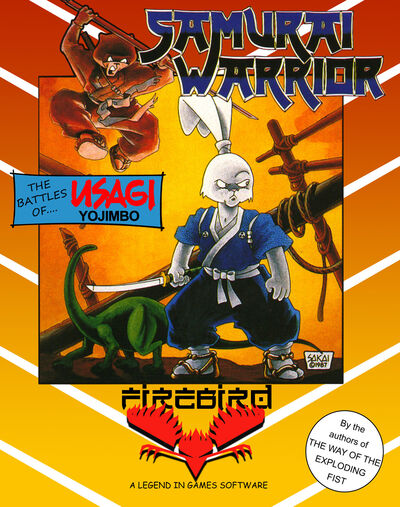 Samurai Warrior C64 Cover