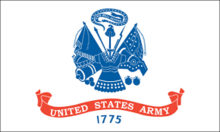Flag of the US ARMY