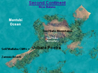 SecondContinent NewHalana Map