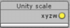 Unity scale