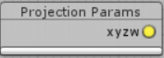 Projection params