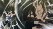 Ushio punching Hyou