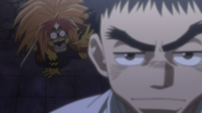 Tora not wanting Ushio to leave
