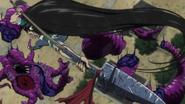 Ushio finishing the demon
