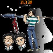 Ushio anime design