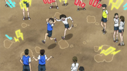 Asako beating Ushio for not being careful
