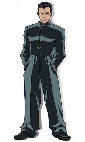 Kenichi anime design