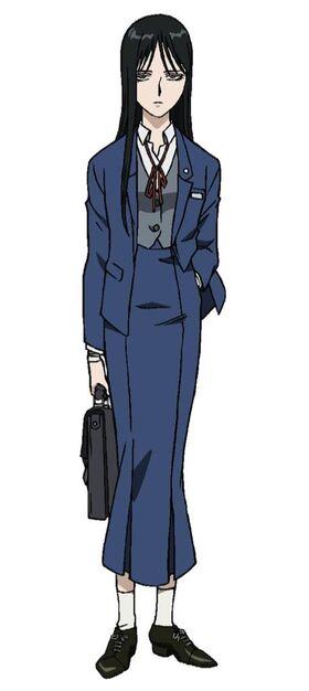 Reiko anime design
