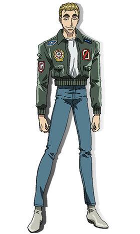 Nagare anime design