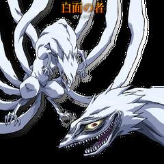 Hakumen no Mono's Concept Art