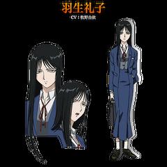 Reiko's Concept Art