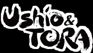 Ushio & Tora English Logo