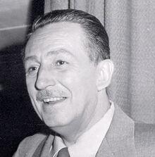 Walt disney portrait