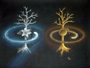 Tolkien The two trees