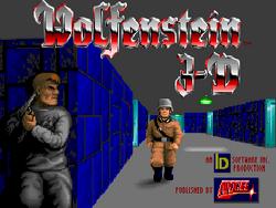 Wolfenstein 3D title screen