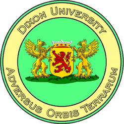 Dixon University seal.png