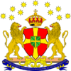 Second Coat of Arms of the Republican Kingdom of Grand and Belluterra
