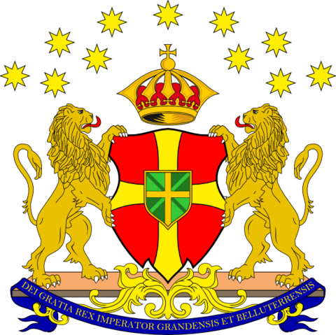 File:Second Coat of Arms of the Republican Kingdom of Grand and Belluterra.png