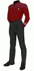 Uniform duty red senior cpo