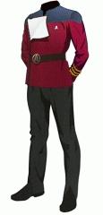 Uniform dress red commander