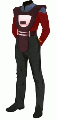 Uniform duty red ensign security armor