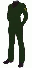 Uniform utility marine sergeant major sfmc