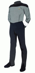 Uniform duty white crewman recruit