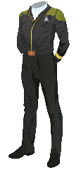 Uniform Jacket Admiral Gold