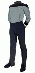 Uniform duty black cadet4