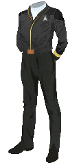 Uniform Jacket Admiral Black