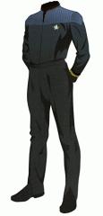 Uniform duty black lt jg