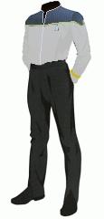 Uniform duty white commodore