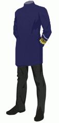 Uniform scrubs vice admiral