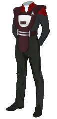Uniform Security Admiral Red