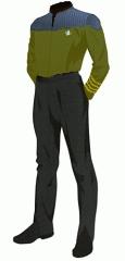 Uniform duty gold captain